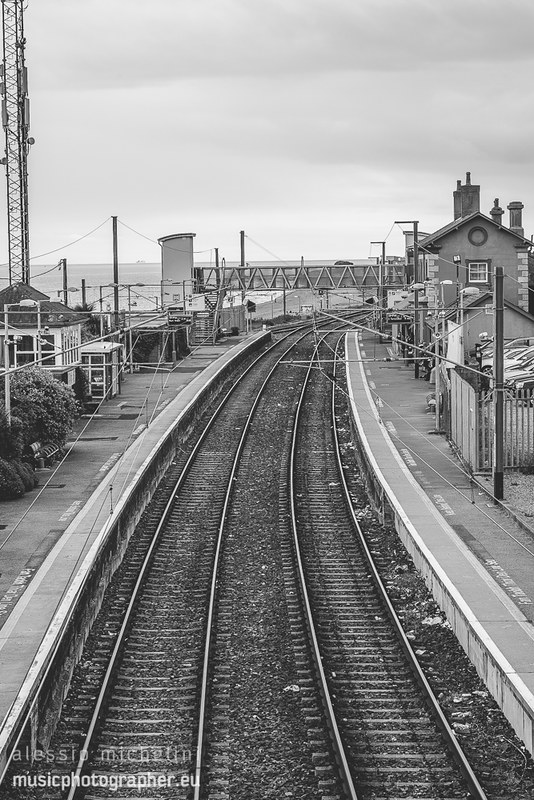 Railway in Greystones