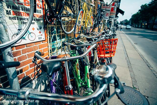 Bikes in Norrebro